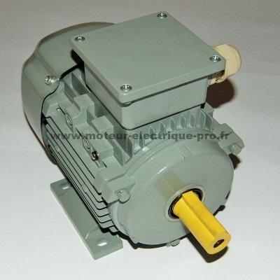 moteur 380v triphasé 0.75kw 3000tr/min B3