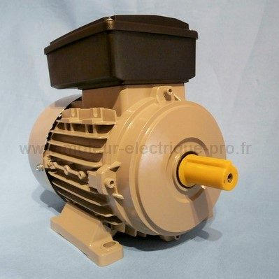 moteur électrique monophasé B3