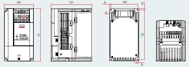 Plan variateur de vitesse S100