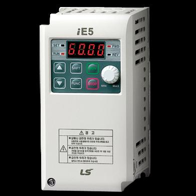 Variateur de vitesse 0.37 kw LSIS SV004-iE5-1