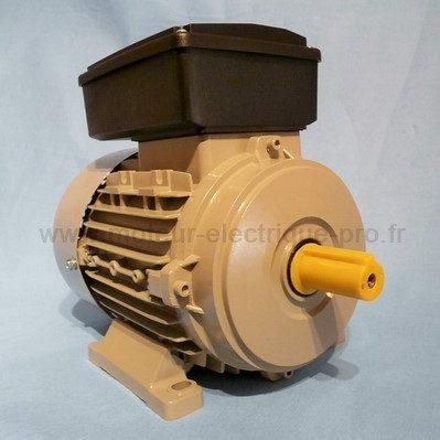 moteur 220v mono 0.18 kw 1500 tr/min b3