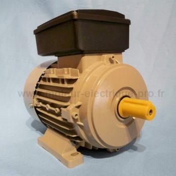 Moteur electrique mono 220V 1.1 kw 1500 tr/min B3
