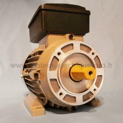 Moteur electrique mono 220v 1.1 kW 1500 trmin B34