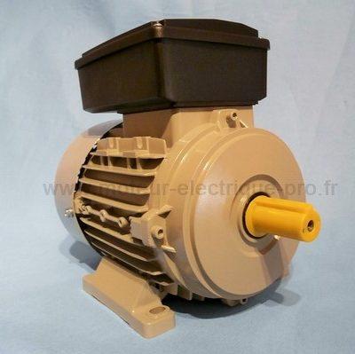 moteur 230v monophase 0.75kw 3000 tr/min B3