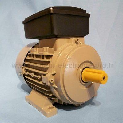 Moteur electrique mono 220v 0.75 kW 1500 tr/min B3