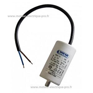 Condensateur pompe piscine 15uf 450v