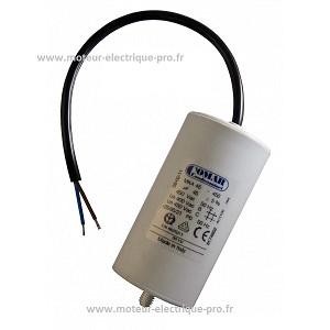 Condensateur 45uf 450v disponible sur www.moteur-electrique-pro.fr