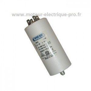 condensateur 16 microfarads 450v pour moteur électrique