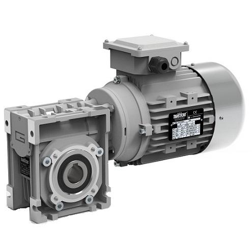 Motoréducteur roue et vis Transtecno CM075 0.55kw