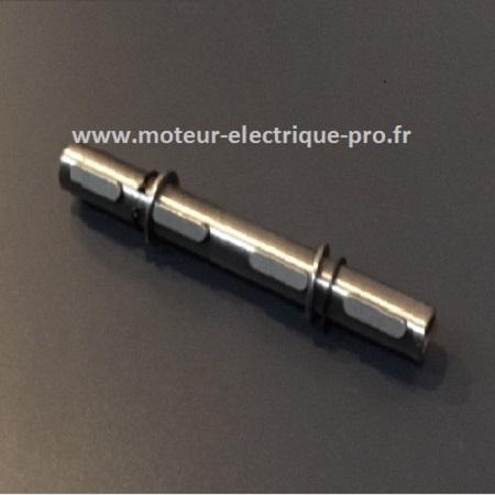 Arbre de sortie double pour réducteur Transtecno CM030