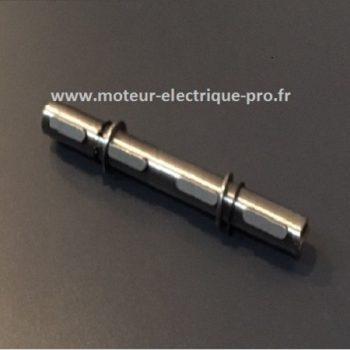 Arbre de sortie double pour réducteur Transtecno CM075