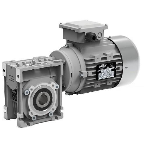 Motoréducteur roue et vis Transtecno CM063 0.75kw 220v