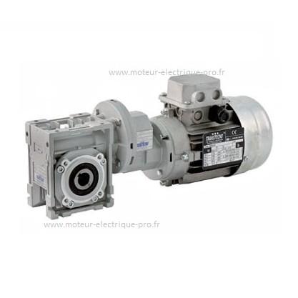 Motoréducteur 0.12kw roue et vis Transtecno CMP063-040