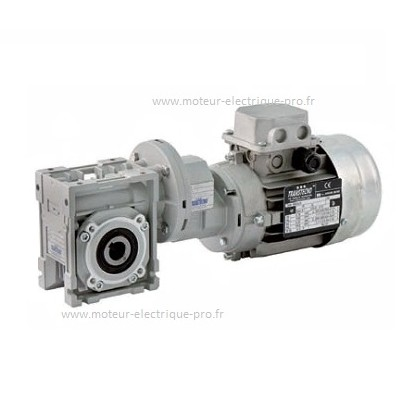 Motoréducteur roue et vis Transtecno CMP080-063 0.55kw