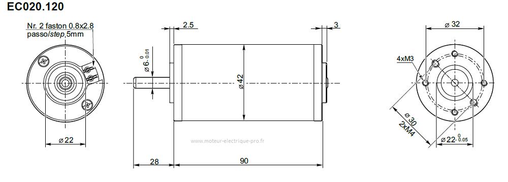 moteur électrique transtecno EC020.120