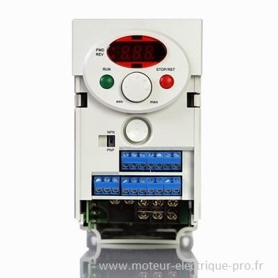 Variateur de vitesse moteur 0.37kW iC5-1F LSIS