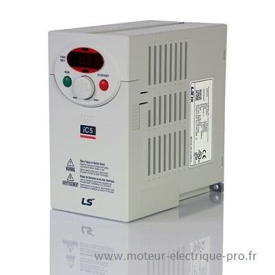 variateur de vitesse pour moteur electrique LSIS SV008-iC5-1