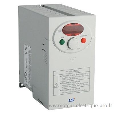 variateur de vitesse pour moteur electrique 0.75kW iC5-1 LSIS