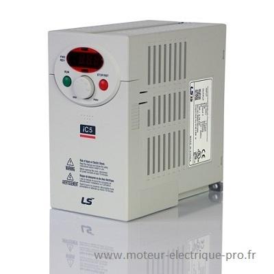 Variateur de vitesse monophasé SV008-iC5-1F LSIS
