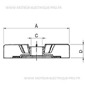 helice de rechange pour moteur électrique