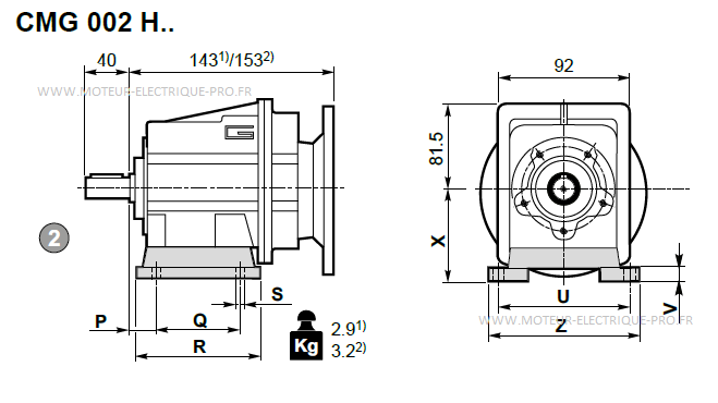 Transtecno CMG002 H
