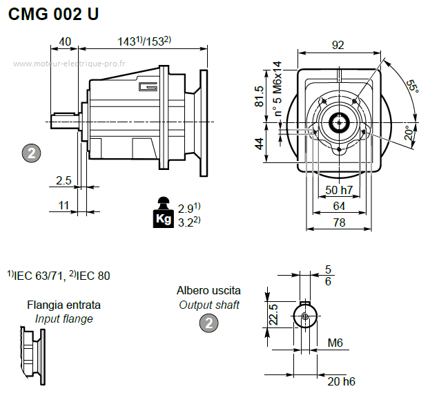 CMG 002 U D20