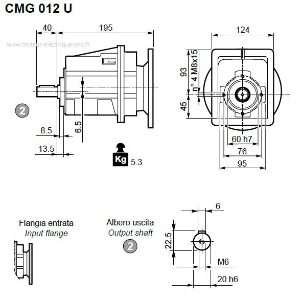 CMG012 U D20