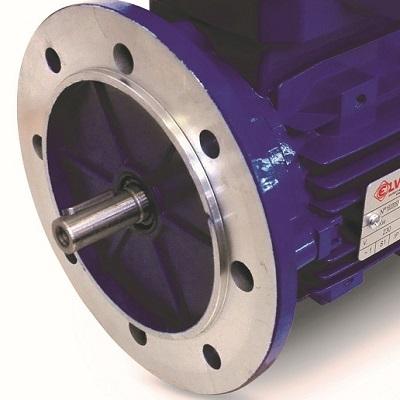 moteur electrique à bride B5 1.5CV 3000 tr-min 220V mono