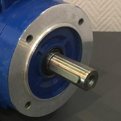 moteur electrique à bride B14 1.5cv 3000 tr/min 220V mono
