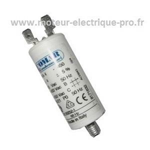 Condensateur 4 µf 450 V sur www.moteur-electrique-pro.fr