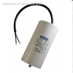 condensateur pour pompe et moteur 90 uF COMAR