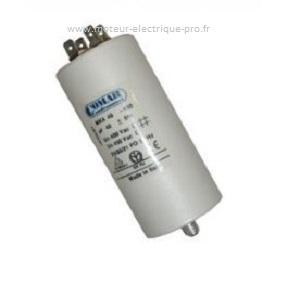 Condensateur 100uf 450V disponible sur www.moteur-electrique-pro.fr