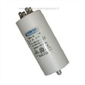 Condensateur 15 µf 450 V sur www.moteur-electrique-pro.fr