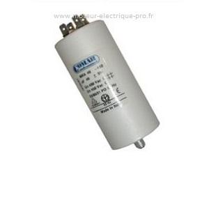 Condensateur 45 pour moteur électrique sur www.moteur-electrique-pro.fr