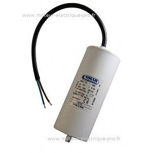 Condensateur 75 µf 450V disponible sur www.moteur-electrique-pro.fr
