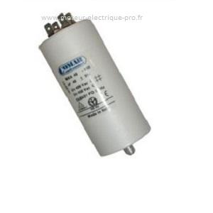 Condensateur 90 uf 450V permanent sur www.moteur-electrique-pro.fr
