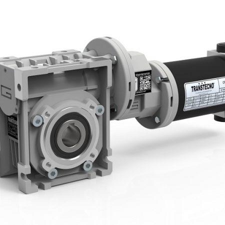moteur 24 volts et réducteur roue et vis Transtecno CMP250-063 050 350W