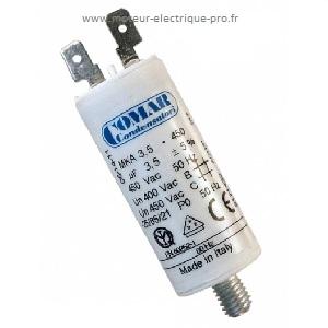Condensateur 3.5uf 450 V sur www.moteur-electrique-pro.fr