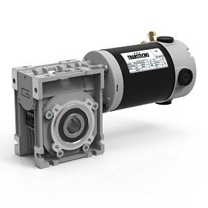 motoréducteur roue vis 24V Transtecno ECM250/040 U