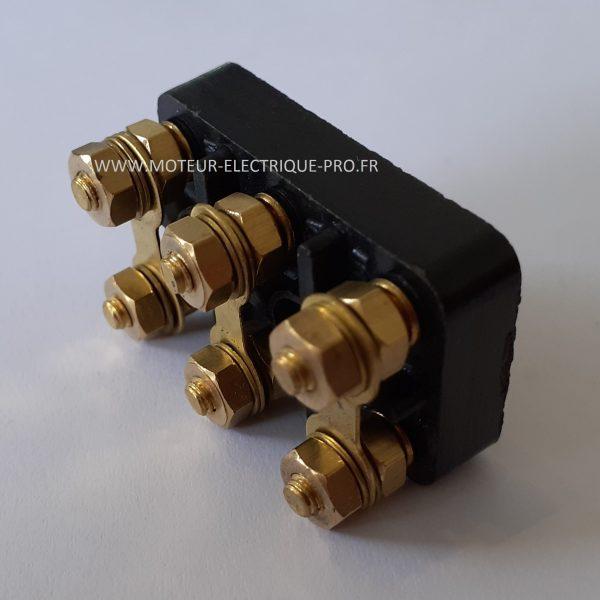 Bornier moteur - plaque à bornes 82x52 M6 photo 2