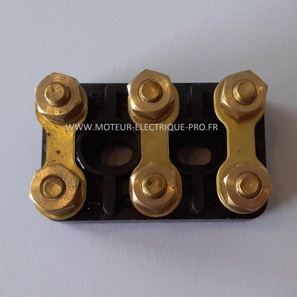 Bornier moteur - plaque à bornes 82x52 M6 photo 3