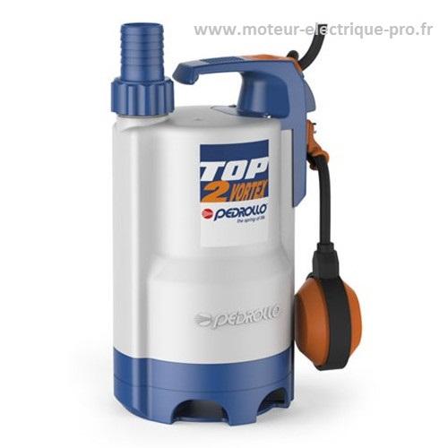 Pompe eaux usées ménagères Pedrollo TOP 3 Vortex 0.55KW