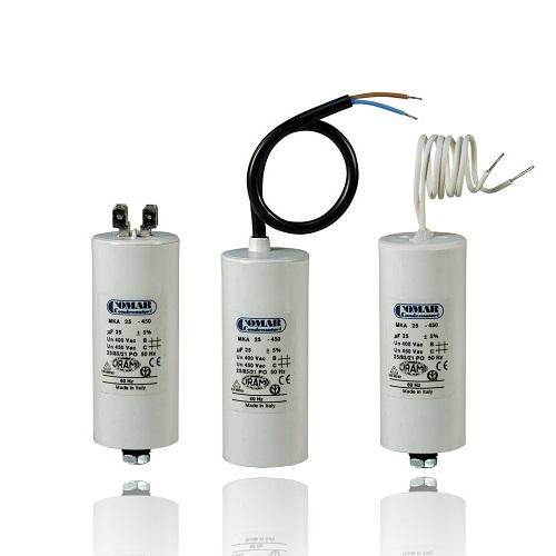 condensateur pour moteur electrique
