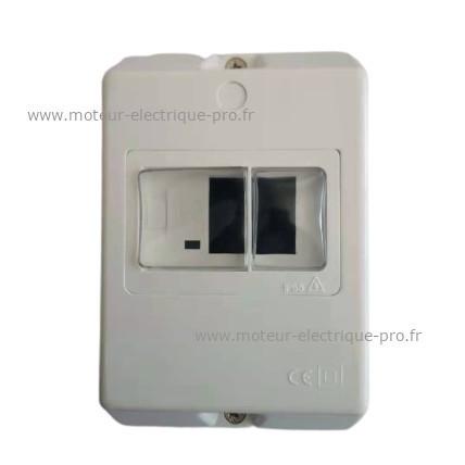 Protection magnéto thermique - boitier pour GV2
