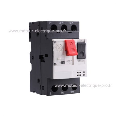 Disjoncteur magnéto thermique GV2ME08