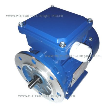 Moteur électrique 400V 0.75KW 3000 TYPE 80A-4 B35