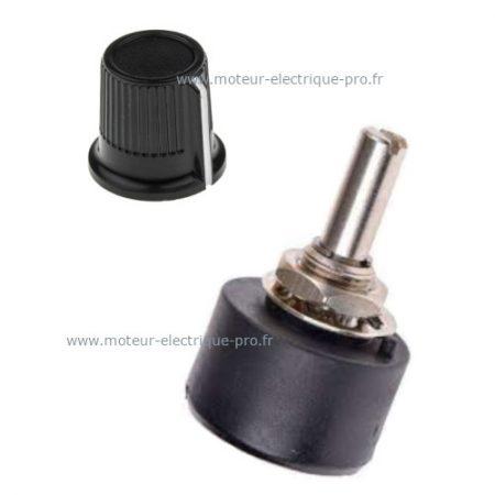 potentiomètre pour variateur de fréquence - www.moteur-electrique-pro.fr